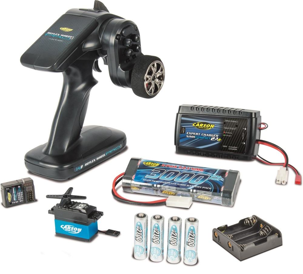 Carson RC-Reflex Pro 3 Elektro Set