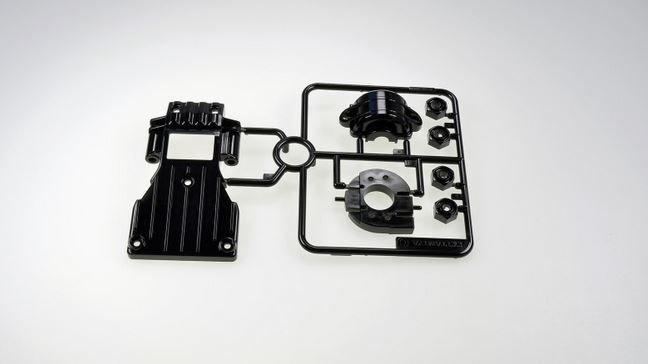 Tamiya C-Teile Getriebeschutz vorne CC-01