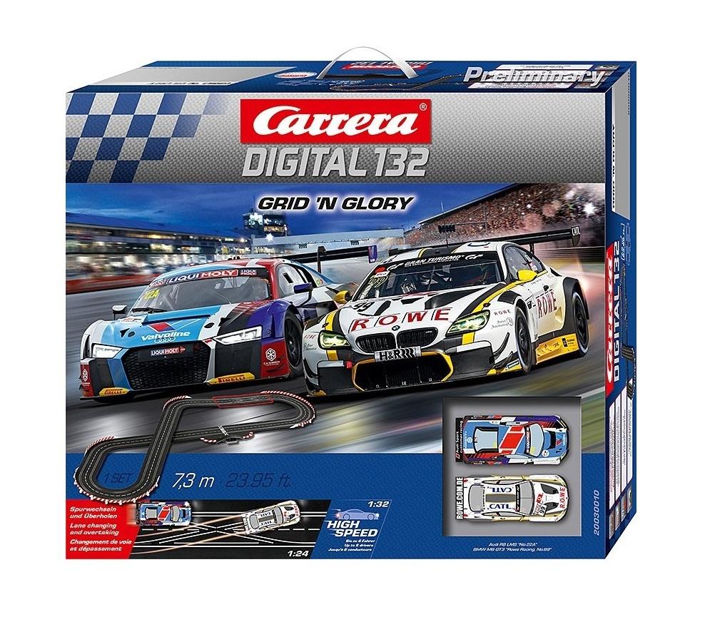 Auslauf - Carrera Digital 132 Grid n Glory