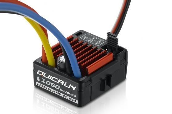Hobbywing QuicRun 1060, 60A, Brushed ESC, 1:10