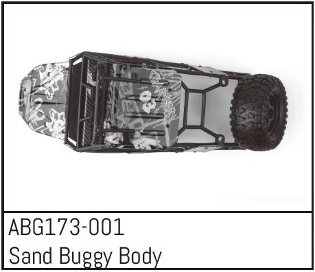 Absima Sand Buggy Body