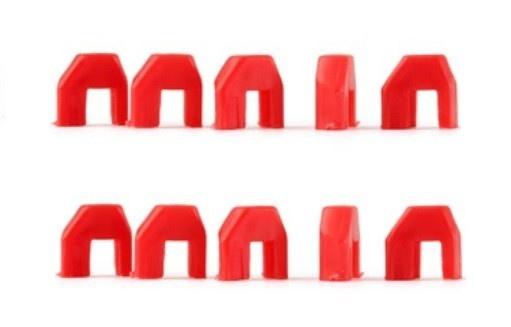 NSR Plastic Cups SuspKit TRIANGULAR Motor Support (10)