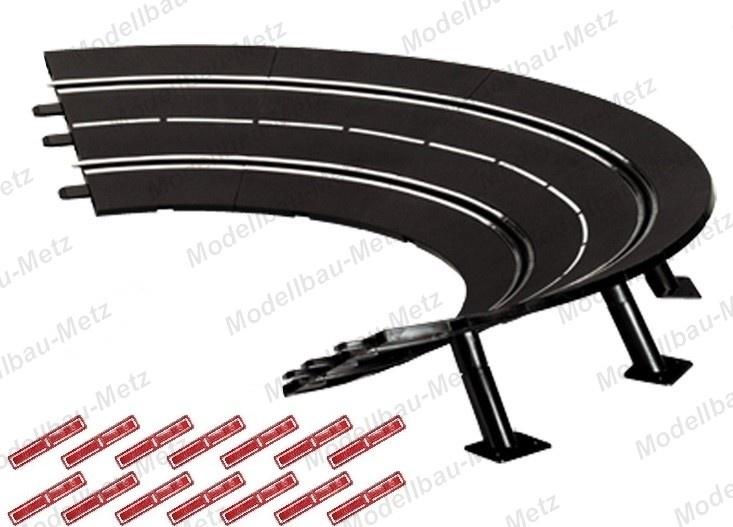 Carrera Evol./Excl./Pro-x/D 132 6x Steilkurve 1/30 Grad