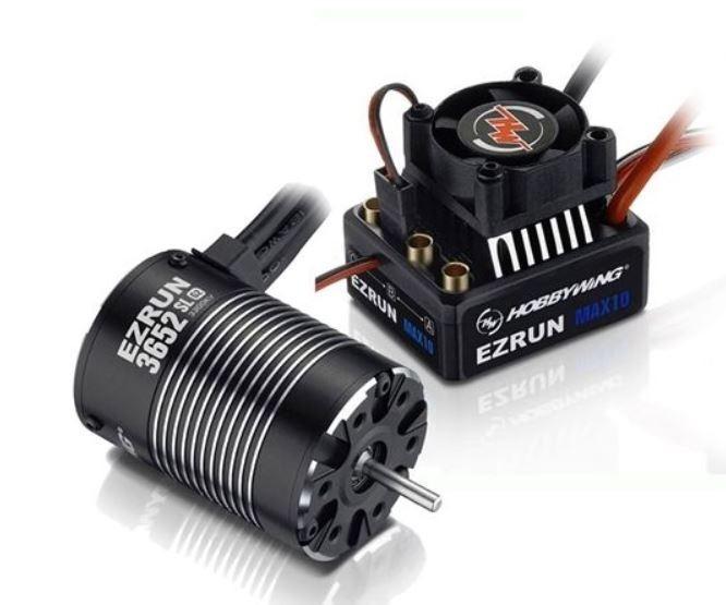 Hobbywing Ezrun MAX10 Combo mit 3652SL-5400kV