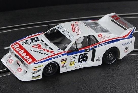 Sideways Lancia Beta MONTECARLO Gr.5 - No.65 - Le Mans 1982