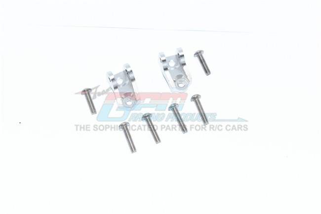 GPM ALUMINUM FRONT/REAR LOWER AXLE MOUNT SET FOR SUSPENSION