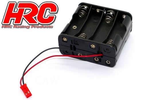 HRC Batteriehalterung - AA - 8 Zellen - Square -