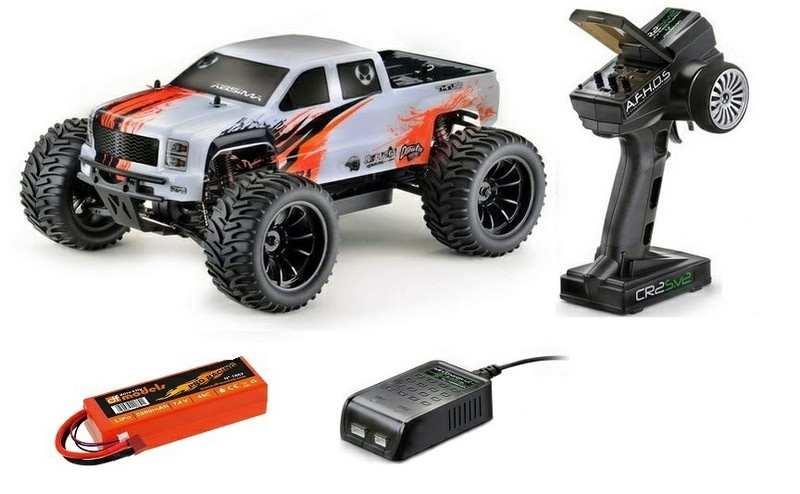 Absima EP 4WD BL Truck AMT2.4BL RTR 1:10 --SPARSET--