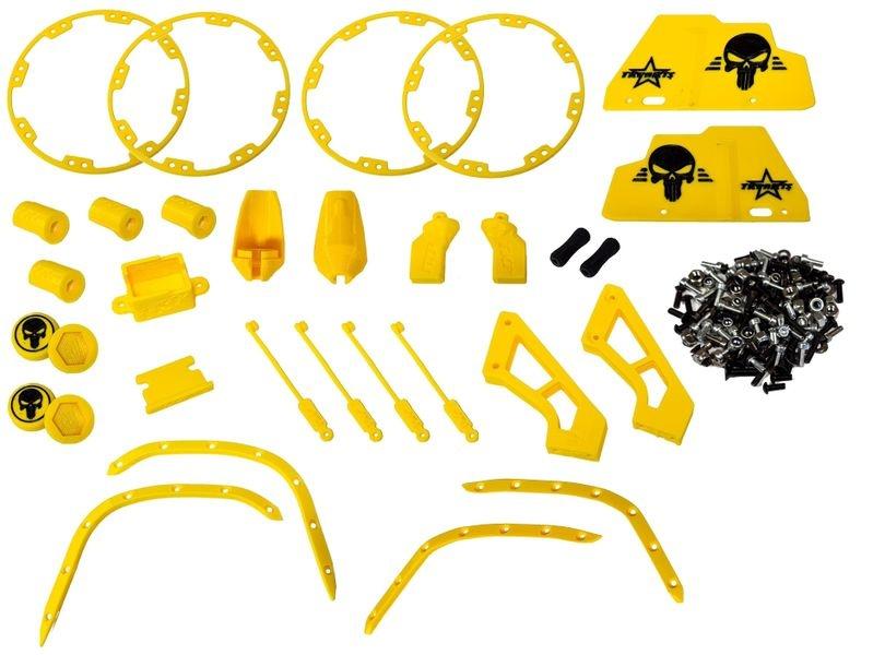 JS-Parts Full Option Komplettset ultraflex gelb/schwarz
