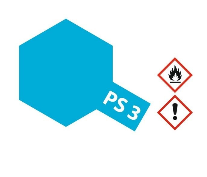 Tamiya Lexanlack PS 3 hell-blau