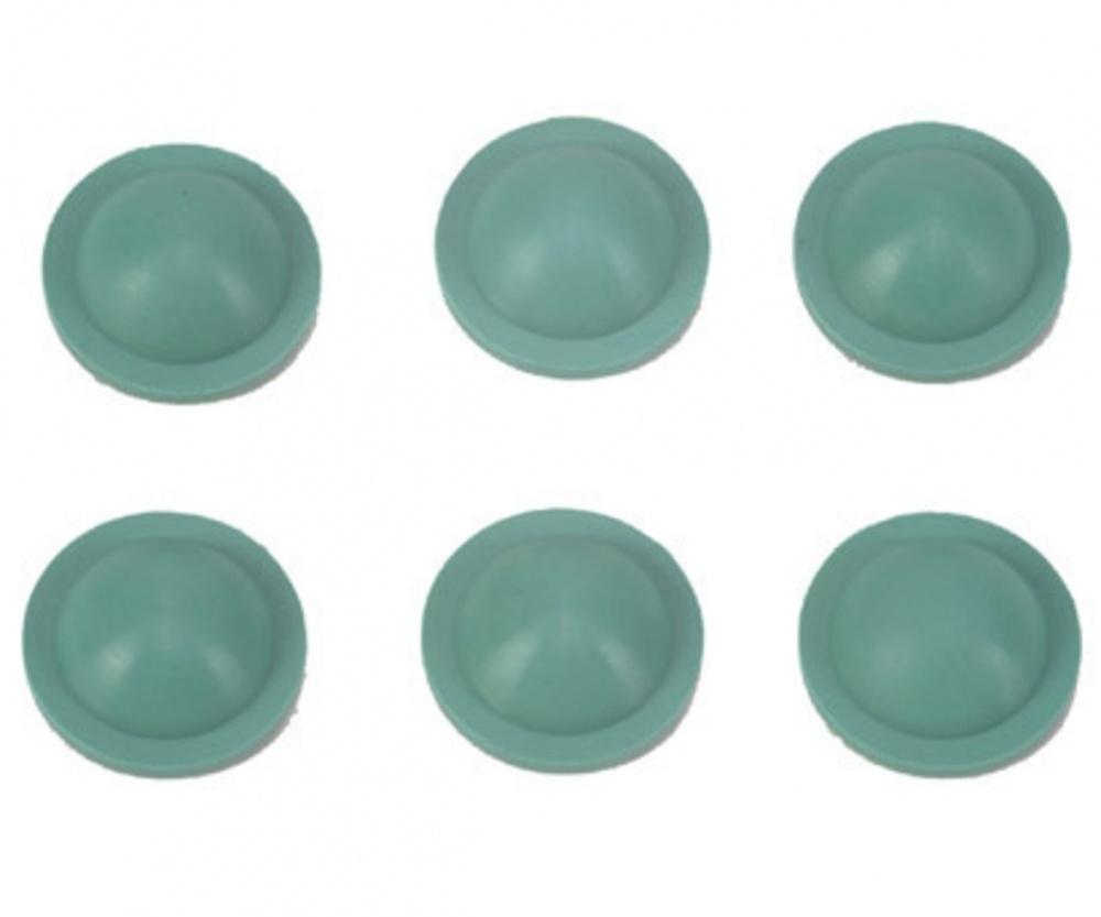 Tamiya Dämpfer-Dichtkappen (6) grün 50519