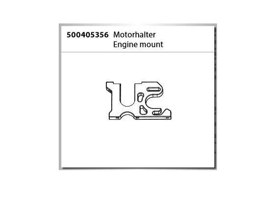 Carson X10EB Motorhalter