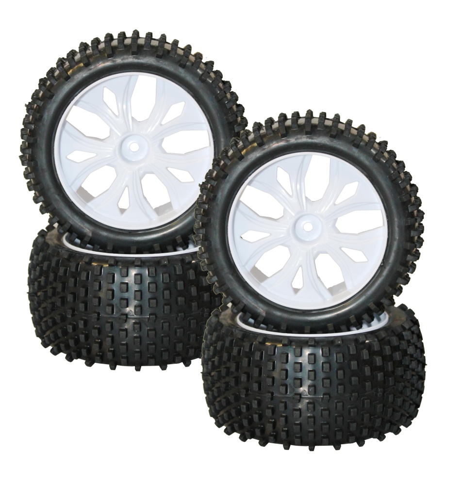 DF-Models Radsatz mit Kunststofffelgen (4)