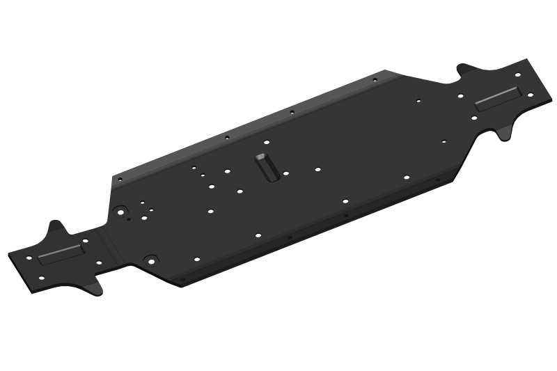 Team Corally Chassis - Buggy XP RTR - Aluminum - 1 pc