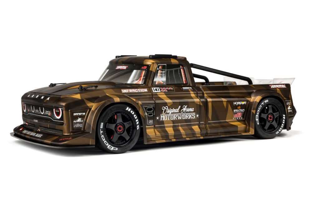 Arrma Infraction Finished Body (Matte Bronze Camo)