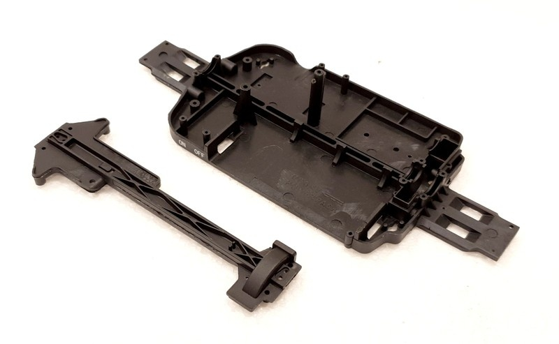 Carrera RC Profi Ford Chassis + Topdeck #183017