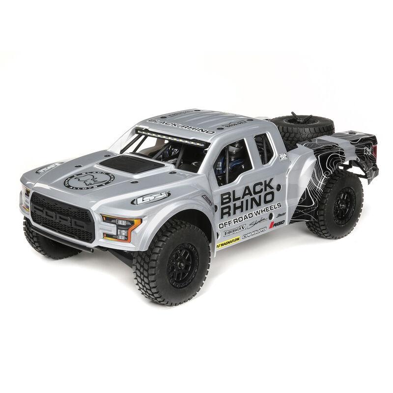 Losi 1/10 Black Rhino Ford Raptor Baja Rey 4WD Brushless
