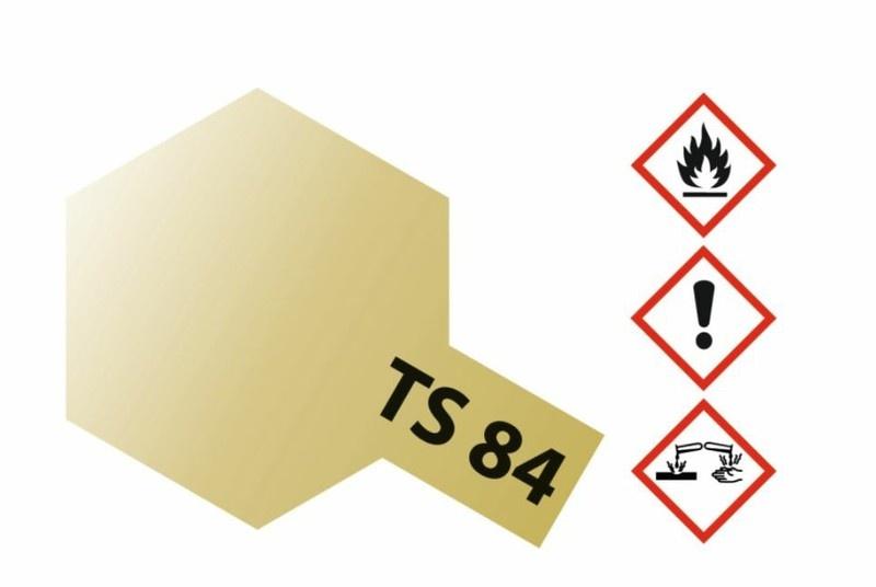 Tamiya Acryl-Sprühfarbe TS-84 Metallic Gold glänzend 100ml