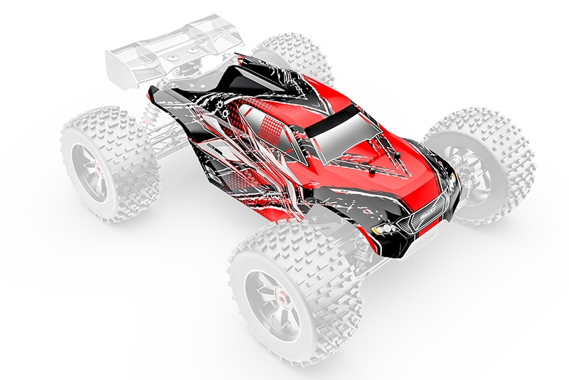 Team Corally Polycarbonate Body - Kronos XP 6S - Painted -