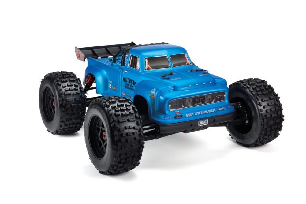 Arrma RC Notorious 6S BLX Body Blue Real Steel