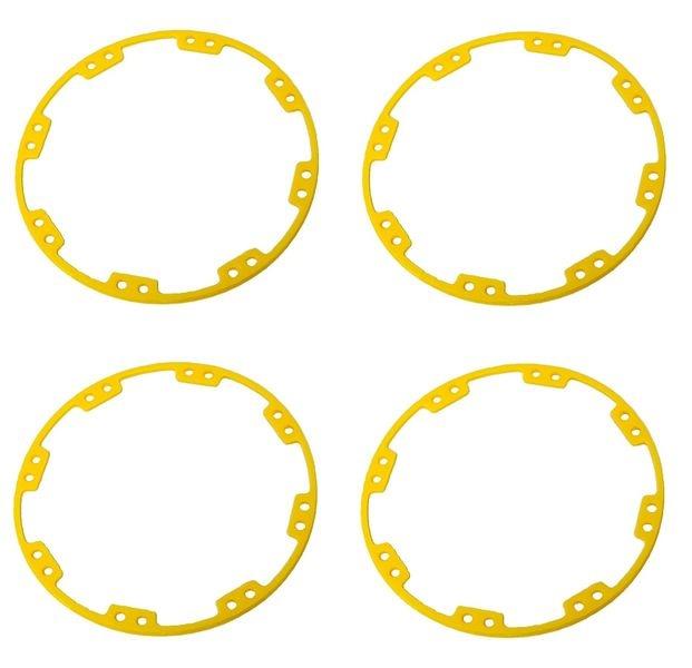 JS-Parts ultraflex Felgenringe gelb