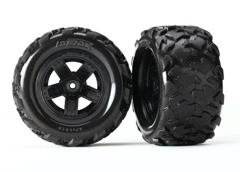Traxxas Reifen auf Felge montiert (2) Teton