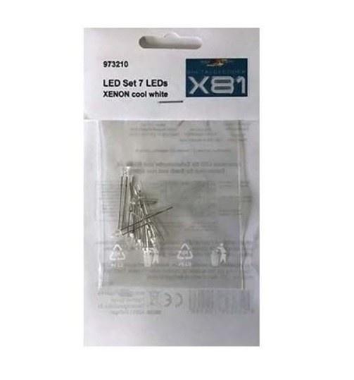 EICKER Racing LED Set Kaltweiß XENON f. X81 2W/4R/1B