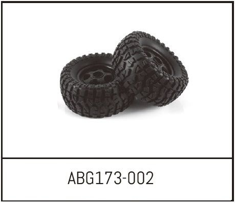 Absima Sand Buggy Wheels (2)
