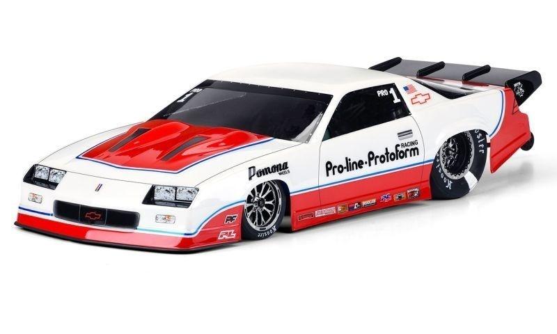 Pro-Line 1985 Chevy Camaro IROC-Z Karo klar