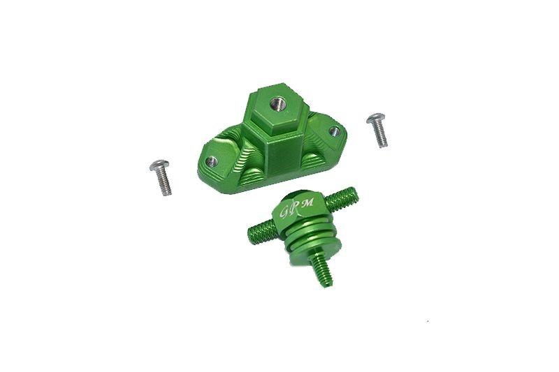 GPM Aluminum Spare Tire Support Mount + Spare Tire Locking