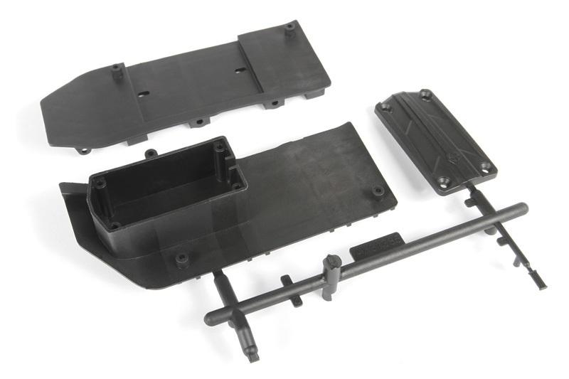 Axial - SCX10 II Halterung seitlicher Rammschutz