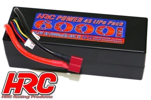 HRC - Akku 14.8V - 4S LiPo - 6000mAh - Ultra T-Plug