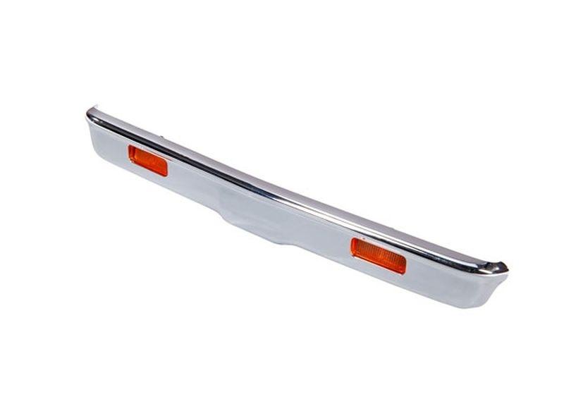 Traxxas Bumper vorn chrome + Halter + Lampen + Schrauben