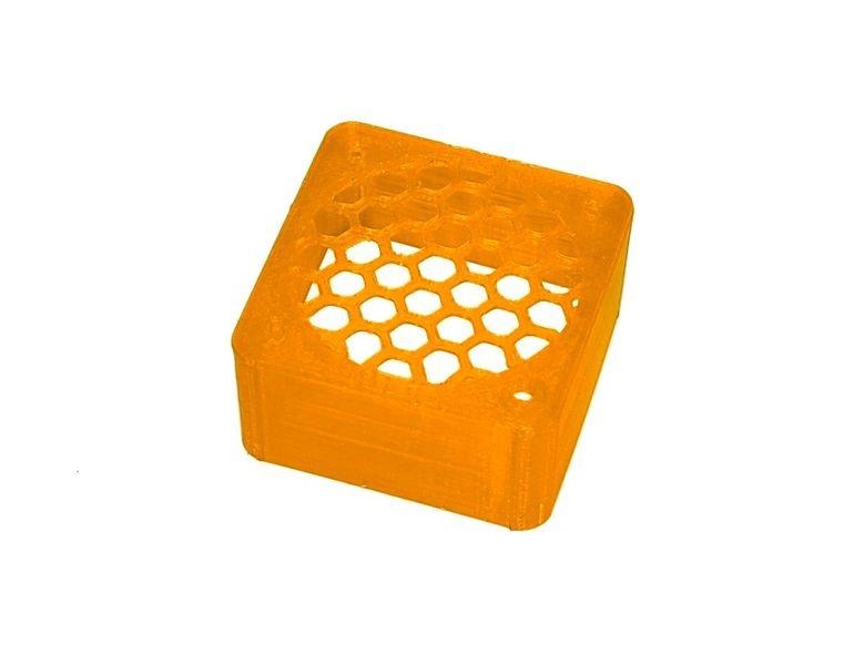 JS-Parts ultraflex Lüftergitter 40x20 geschlossen orange
