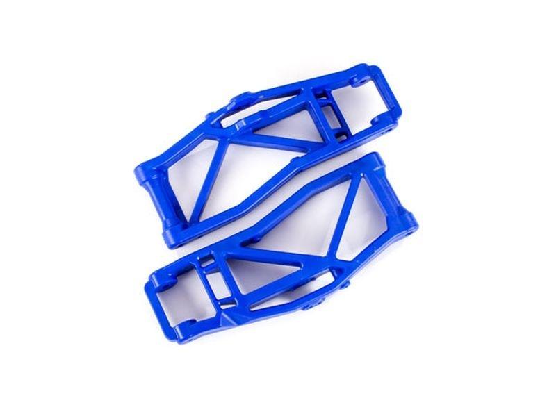 Traxxas Querlenker unten blau (2) L/R V/H
