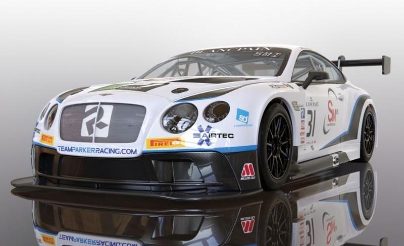 Scalextric 1:32 Bentley Continental GT3 Team Parker Racing