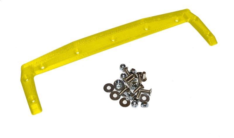 JS-Parts ultraflex Heckkante für X-MAXX Body von TMT gelb