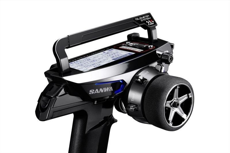 Sanwa MT-44 Piano Black Limited / RX-482 / ohne Servos /
