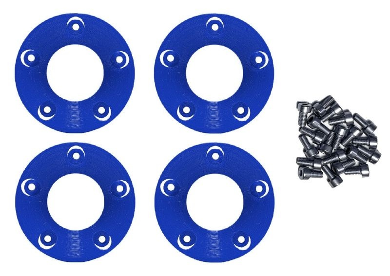JS-Parts Felgenringe innen für Louise RC MFT 1:5 blau /
