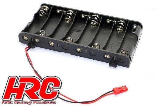 HRC Batteriehalterung - AA - 8 Zellen - Flach -