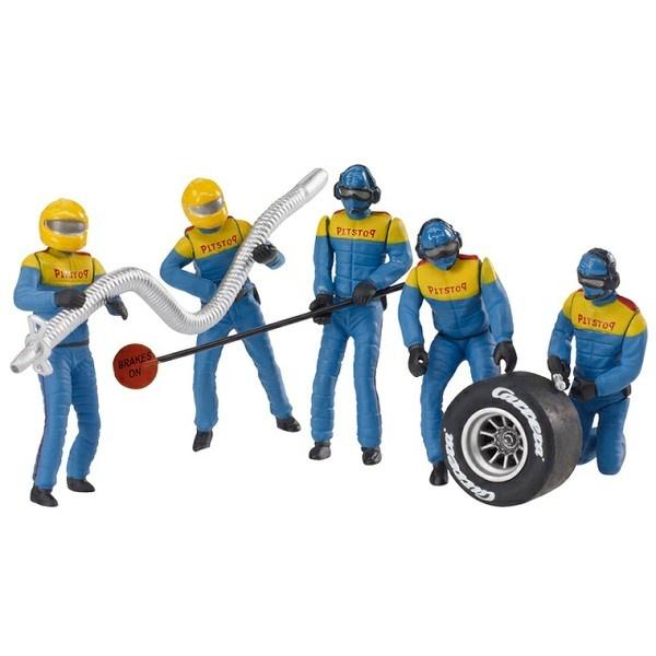 Carrera Figurensatz Mechaniker, Blau