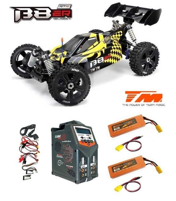Team Magic B8ER 4WD Electric Buggy 4S BL Gelb/Schwarz RTR