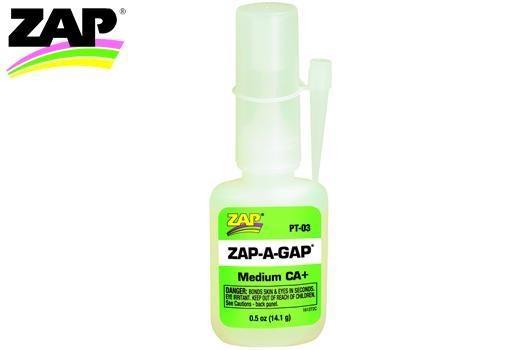 Zap Kleber - ZAP-A-GAP - CA+ Medium - 14.1g