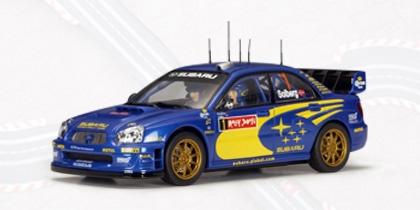 AutoArt Subaru New Age Impreza WRC 04 Solberg/Mills #1