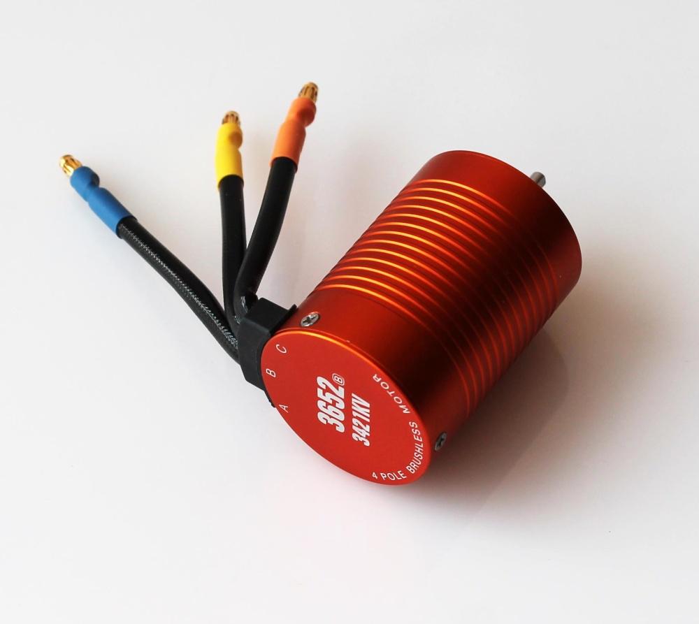 DF-Models Brushlessmotor 3421Kv orange