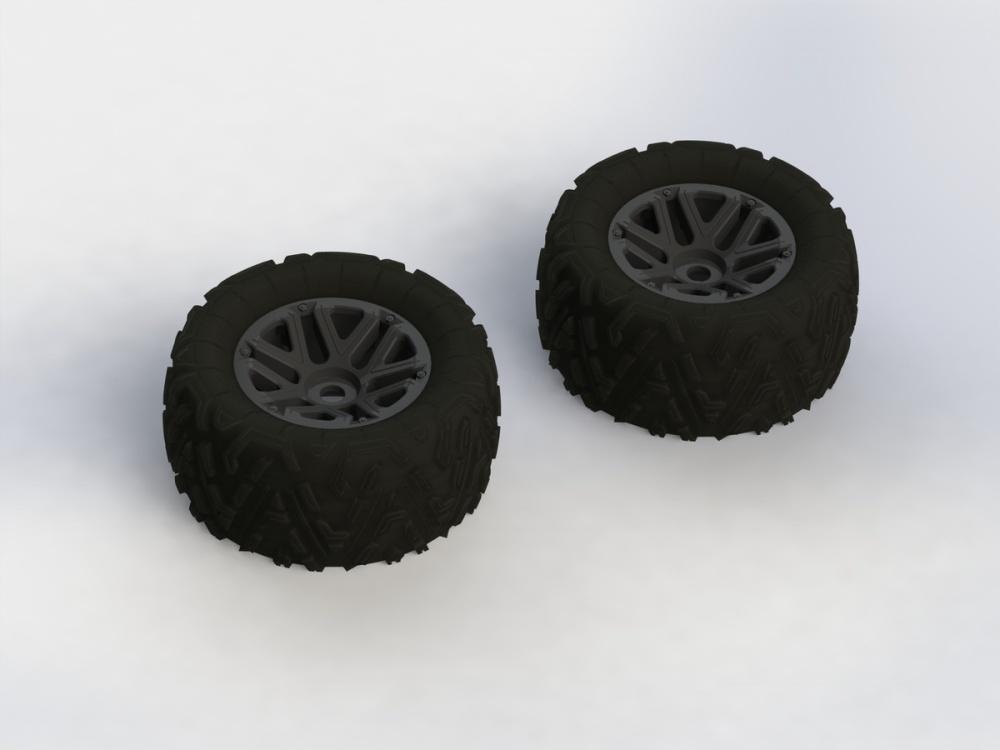 Arrma RC DBoots Sand Scorpion mit 6S Reifen Set verklebt