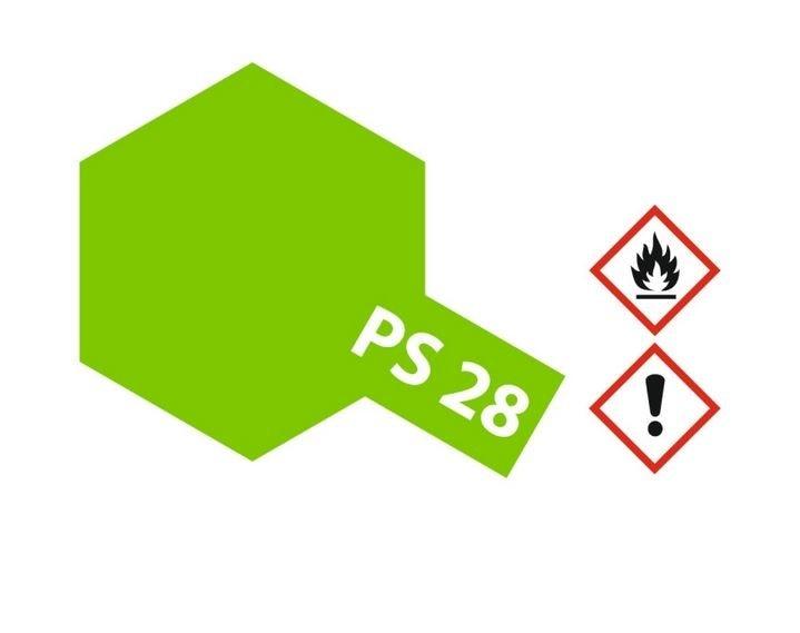 Tamiya Lexanlack PS 28 neon-grün
