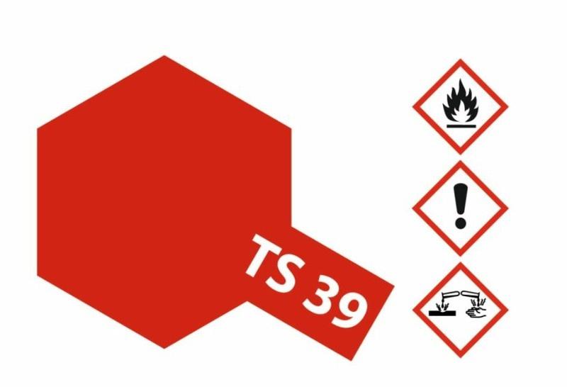 Tamiya Acryl-Sprühfarbe TS-39 MicaRot(Glimmer)glänzend 100ml
