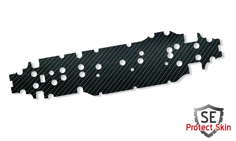 JS-Parts SE Protect Skin Printed Carbon