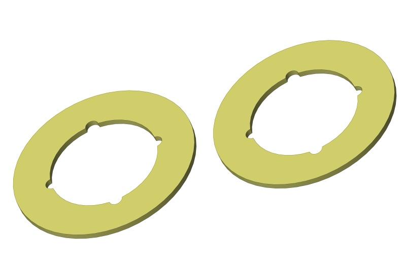 Team Corally  Slipper Pads - 2 pcs